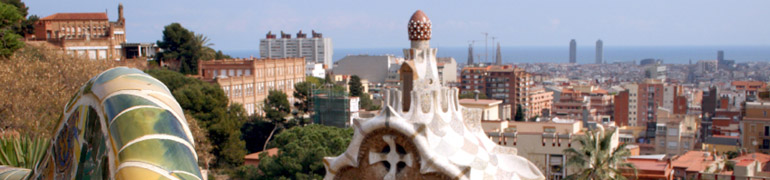 Barcelona from Parc Guel